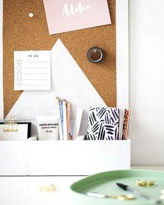 Un organisateur de bureau DIY & Design