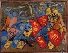 BNF Français 105 Histoire du Saint Graal