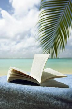 what i wish i was doing today! Reading a great book on the beach.