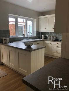 Integral Mussell Oak Grained Kitchen. Matched with Contesse Cottage ...