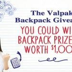 Valpak $1,000 Backpack Giveaway!