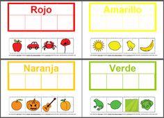 Informática para Educación Especial: Actividad para trabajar los colores con pictogramas de ARASAAC.