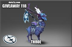 Giveaway 118 - Throe