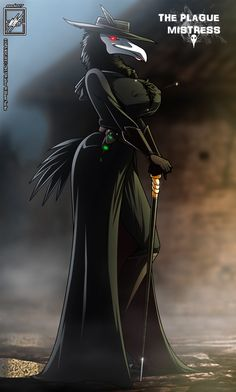 The Plague Mistress_completed Thicc Anime, Anime Furry, Dark Fantasy Art, Fantasy Artwork, Female Monster, Monster Girl, Furry Comic, Monster Musume, Plague Doctor