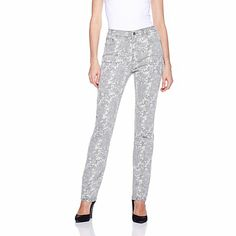 DG2 Shadow Camo-Print Skinny Jeans - sad that I missed these in the pink came, before air time she sold out of every petite size 02 so I might get the tall size 02 and hem them - they are that HOT!!!