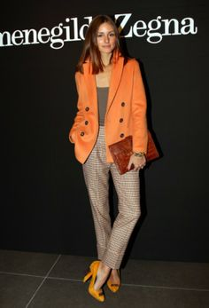 Olivia Palermo Photos - Olivia Palermo attends the Ermenegildo Zegna Milan  Fashion Week Menswear A W 2011 show on January 2011 in Milan, Italy. f7c025e5c9a2