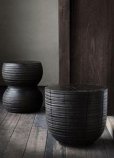 Analogue Life: ジョージ・ピーターソンのスツールアップしました Natural Furniture, Log Furniture, Furniture Makeover, Modern Furniture, Furniture Design, Wabi Sabi, Trunk Side Table, Dark Wood Floors, Living Room Update