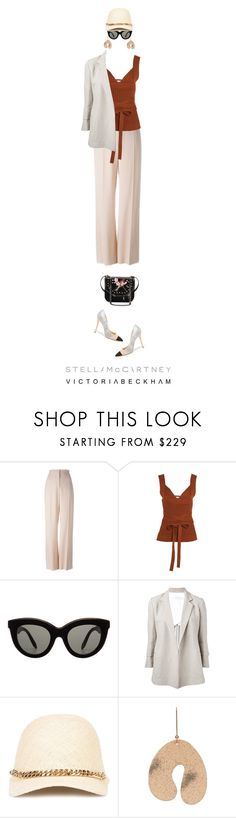 """""""Stella & Victoria"""" by collagette ❤ liked on Polyvore featuring STELLA McCARTNEY, Victoria Beckham, StellaMcCartney and victoriabeckham"""