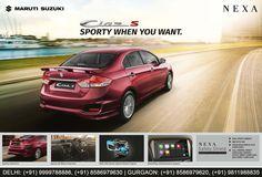 Maruti Suzuki Ciaz S - Sporty When You Want. http://www.ranamotors.co.in/ciaz-queries-en-in.htm  Kailash Colony (Delhi): (+91) 9999788886, (+91) 8586979630 Rajiv Chowk (Gurgaon): (+91) 8586979620, (+91) 9811988835  #MarutiSuzuki #Nexa #CiazS #Car #RanaNexa #RanaMotors #NewDelhi #Gurgaon