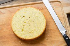 Базовый бисквитный торт с пошаговыми секретами оформления