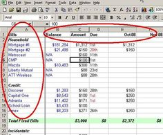 Make a Personal Budget on Excel in 4 Easy Steps – Finance tips, saving money, budgeting planner Budgeting Finances, Budgeting Tips, Excel Tips, To Do Planner, Planning Budget, Budget Planning Worksheet, Budget Worksheets Excel, Budget Planner, Planner Ideas
