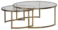 online shopping for Uttermost Nested Coffee Table Set from top store. See new offer for Uttermost Nested Coffee Table Set Oversized Coffee Table, Round Coffee Table, Modern Living Room Table, Living Room Furniture, Country Furniture, Nesting Tables, Metal Chairs, Modern Minimalist, Minimalist Living