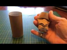 Making a face in a used toilet roll - inspired by the amazing character work of Junior Fritz Jaquet, I decided to try and find a way to do this. You could im...