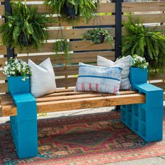 40 Chic Ideas for Patios and Porches on a Budget | HGTV Backyard Seating, Outdoor Seating Areas, Outdoor Sofa, Outdoor Living, Outdoor Furniture, Outdoor Decor, Outdoor Crafts, Outdoor Hammock, Furniture Ideas