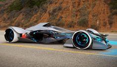 Infiniti SYNAPTIQ - гоночный автомобиль-трансформер.