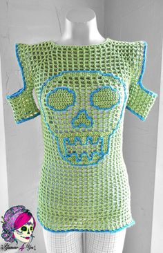 Glamour Skull Sweater - Glamour4You