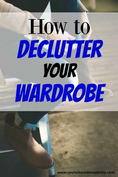 I have way too many clothes in my closet. These are really good ideas to help me scale back on my wardrobe so I will actually have something to wear!