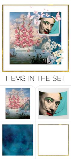 """""""Eyes of Salvador Dali"""" by flower-of-paradise ❤ liked on Polyvore featuring art, polyvorecontest and polyvoreset"""