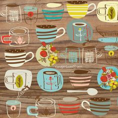 Superior Coffee Cups   Designs From Ecojot Designer Carolyn Gavin Part 27