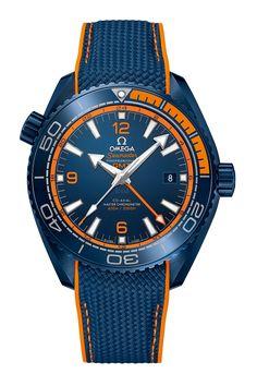 "Omega Seamaster Planet Ocean ""Deep Blue"" - front"