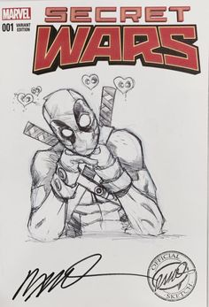 Deadpool by Humberto Ramos [Boston ComicCon 2015]