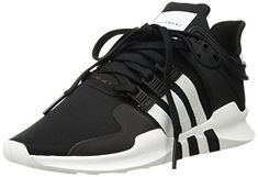brand new d9e6a 6f109 adidas Originals Men s EQT Support Adv Running Shoe Black White Black 8 M US