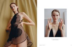 Supplement No.2  Photographer: Benjamin Vnuk  Stylsit: Joanna Schlenzka  Hair: Nao Kawakami  Makeup: Jenny Coombs  Model: Viola Podkopaeva