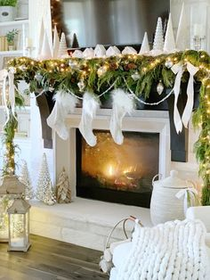 Erin of My Texas House shares tips and inspiration on mantel decorating to brighten your mantel throughout the holiday season Balsam Hill Christmas Tree, Christmas Mantels, Christmas 2019, Colorful Christmas Decorations, Christmas Palette, Decorating Blogs, Holiday Decorating, Holiday Traditions, Texas