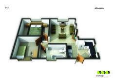 Affordable Unit ,42. Go to website: bit.ly/1hcfKVn #affordablehousing #property #developments