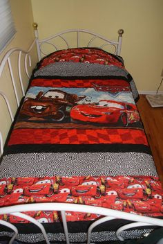 Disney Cars Twin Size Quilt!  Cute!