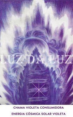 chama violeta, da misericordia e transmutação.
