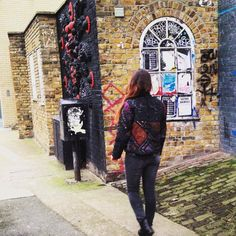 Our banjara jacket is looking sooo snazzy in Shoreditch, London today! Boho Style, Boho Chic, London Today, Boho Fashion, Ethnic, Punk, How To Wear, Jackets, Down Jackets