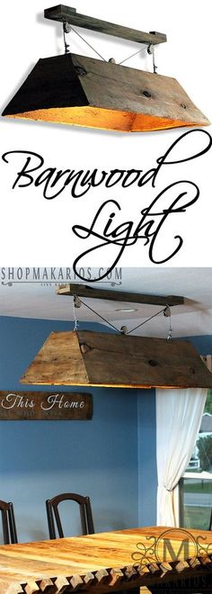 Country Home Decor hanging barn wood light, rustic lighting, wood lights Tips to Help Kids Concentra Rustic Light Fixtures, Kitchen Lighting Fixtures, Farmhouse Lighting, Rustic Lighting, Lighting Ideas, Pool Table Lighting, Rustic Pool Table Lights, Club Lighting, Ceiling Lighting