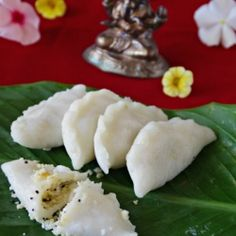 This is the spicy version of Indian Rice Dumpling filled with spicy lentils and steamed. Healthy and yummy.