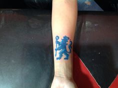 Tattoo FC Chelsea by dres tattoo made in Agentina