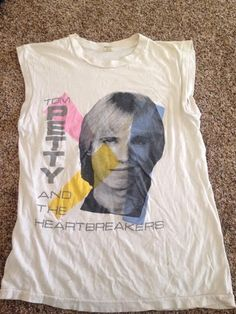 aec8081e1 Vintage Tom Petty And The Heartbreakers Shirt #GraphicTee Tom Petty, Toms