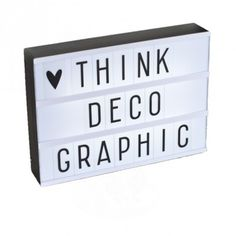 Lightbox A little lovely company - Deco Graphic