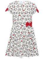 Cat Print Dress, download this press image at prshots.com/press #fashion #top #cat #trend #style #fblogger #fashionblogger