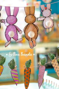 et Co. Design - Nicole Toedter - Je suis - Template_Easter_Hase_Bine Brändle The Effective Pictures We Offer You About diy projects A qu - Easter Art, Easter Crafts, Easter Bunny, Diy And Crafts, Crafts For Kids, Summer Crafts, Fall Crafts, Easter Traditions, Recycled Crafts