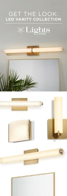 How to: Contemporary Bathroom Update  Is it time for the bathroom make-over you've been dreaming about? Consider an energy-efficient and cost-friendly update with stylish designer lighting. Our latest Vanity Collection offers contemporary, LED bathroom fixtures - perfect for the modern home.