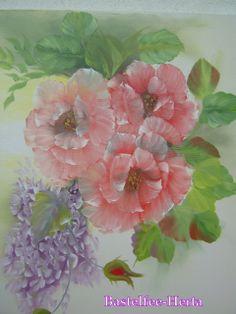 Rosen mit Flieder