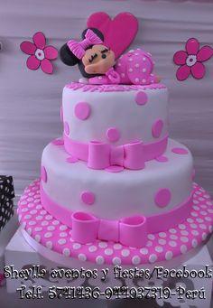 Torta Minnie bebe