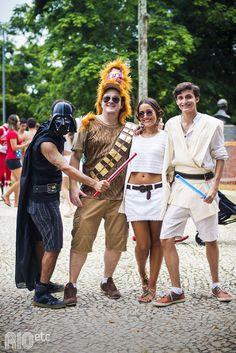 Nossas inspirações de fantasia pro carnaval carioca: Star Wars.