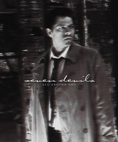Florence + the machine lyrics <3 and Castiel. Oh look, two of my favorite things!