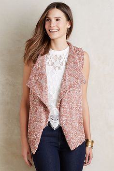 Shawled Avie Vest by Renee's NYC Accessories
