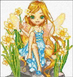 Cross Stitch   Fairy xstitch Chart   Design