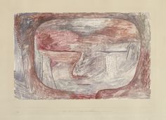 Paul Klee 1879 - 1940 WIRD ERWACHEN (WILL AWAKEN) faintly signed Klee (lower right); dated 1935, titled and inscribed K7 (lower centre) and numbered IV (lower left) on the artist's mount watercolour and gouache on paper laid down on the artist's mount sheet: 21 by 32.7cm., 8 1/4 by 12 7/8 in. artist's mount: 35.1 by 50cm., 13 3/4 by 19 3/4 in. Executed in 1935.