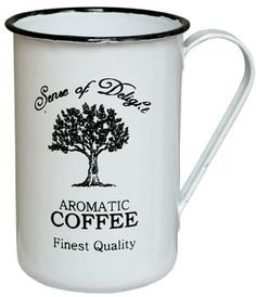 Enamelware Aromatic Coffee Cup at Cowgirl Blondie's Western Boutique