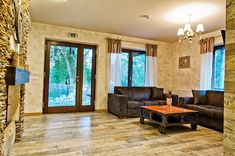 Mixing Styles With Ability: Chalet Hovel, Romania Village House Design, Village Houses, Small Country Homes, Mix Style, Design Case, Traditional House, Architecture Design, Couch, Interior Design