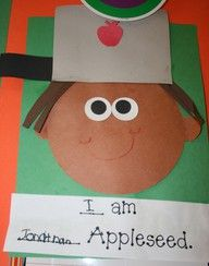 Image detail for -Johnny Appleseed craft